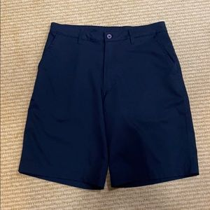 Champion Men's flat front black shorts Size 32